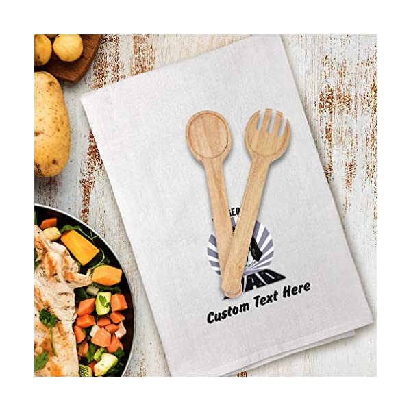 Style In Print Custom Decor Flour Kitchen Towels Dad Ariegeois Dog Pets Dogs Cleaning Supplies Dish Towels Design Only 3
