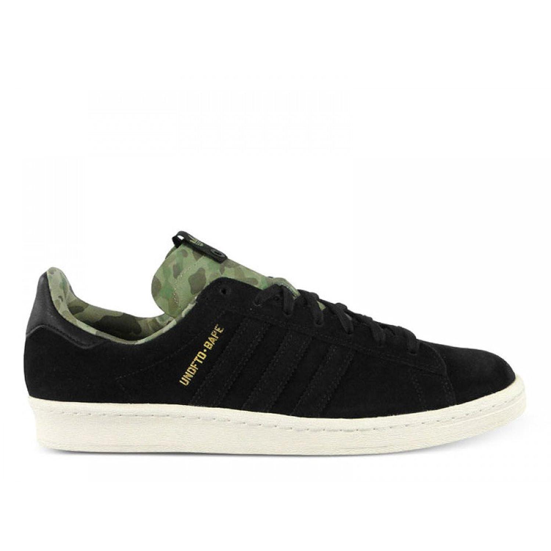 best service 01ef8 62ab4 Amazon.com  Adidas x Undefeated x Bape Men Campus 80s (black .