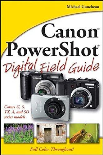 Canon PowerShot Digital Field Guide (Digital Canon Photo Paper)
