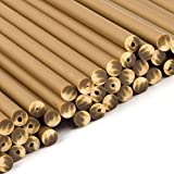 Gold Plastic Lollipop Sticks 150mm x 4.5mm - x3000