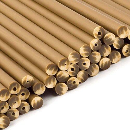 Gold Plastic Lollipop Sticks 114mm x 4mm x5000 by Yolli