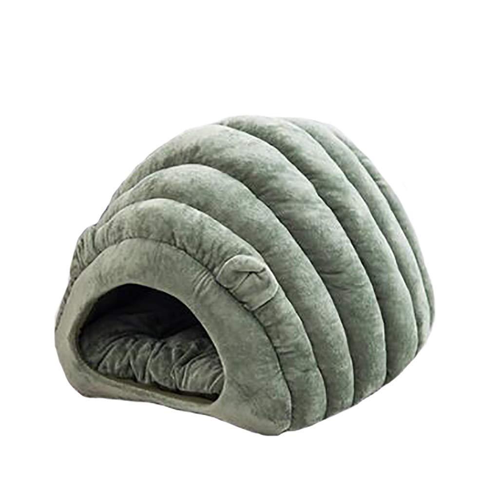 2  405055cmOrderSoil Cat Litter Winter SemiClosed Cat Litter Winter Warm Nest House Kennel Deep Sleep Cat Sleeping Bag Villa