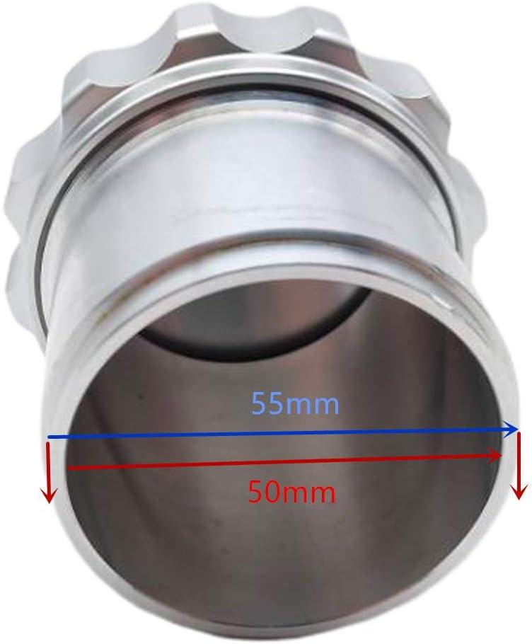 B Baosity Alliage Daluminium 2r/éservoir De Remplissage De Carburant /à Souder Sur Le Bol De Splash De Puisard Deau De Cou De Chapeau