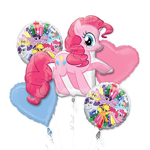Amscan International 3484401 Pinkie Pie Foil Balloon Group -