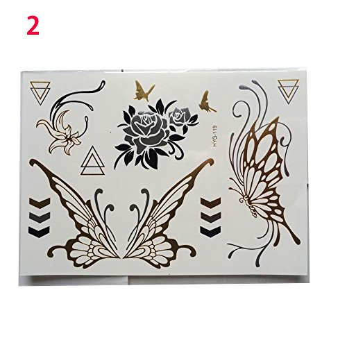 sinotech-metallic-temporary-tattoos-20-different-sheets-per-lot-beautiful-tattoo-flash-body-art-blac