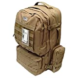 22″ 4300cu.in. Tactical Hunting Camping Hiking Backpack OP822 TAN For Sale