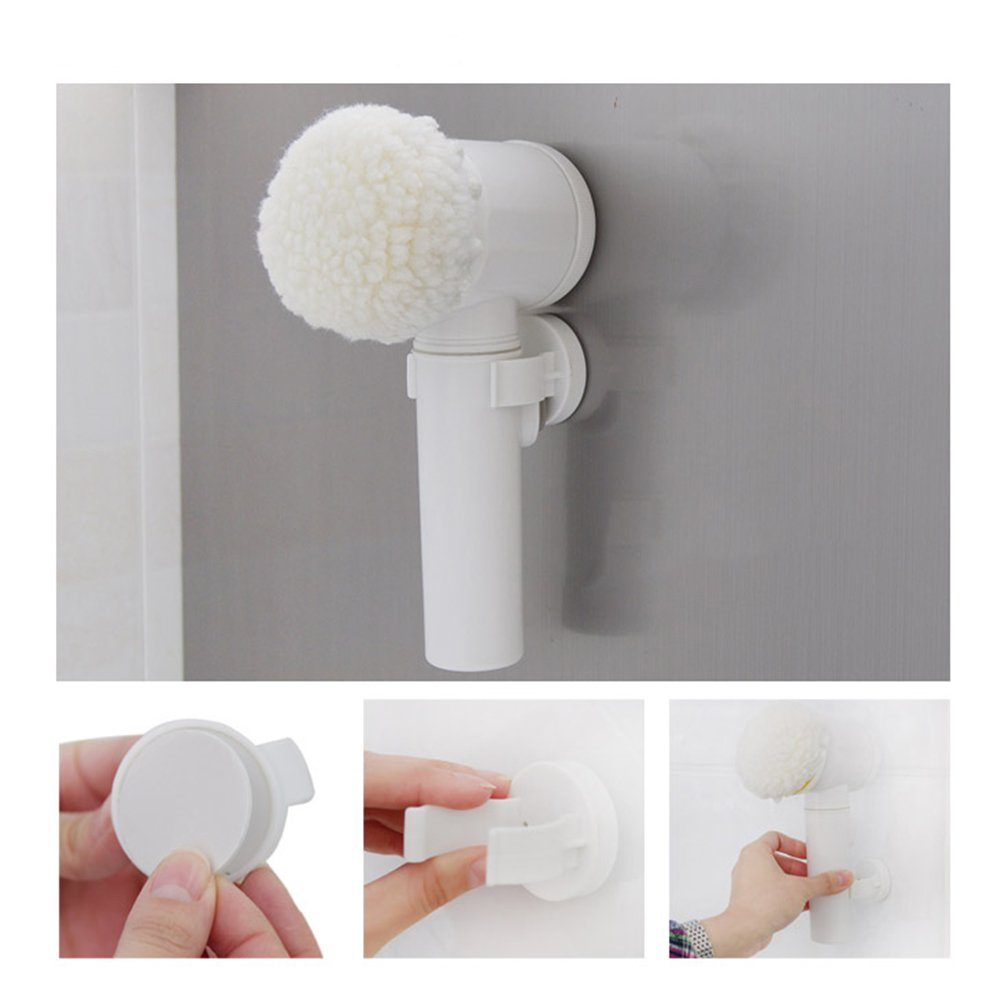 Amyove Handhold Electric Cleaning Brush for Bathroom Tile and Tub Kitchen Washing Tool by Amyove (Image #7)