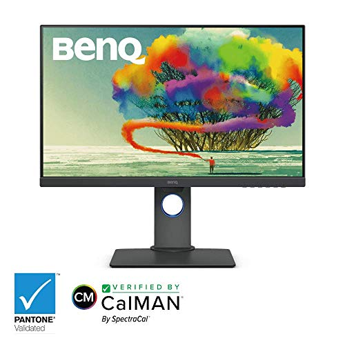 BenQ PD2700U 27 inch 4K UHD IPS Monitor with HDR and AQColor Technology for Accurate Reproduction