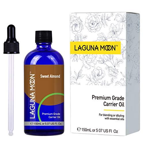 : Lagunamoon Carrier Oil SweetAlmond,150ML