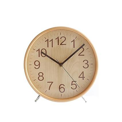 CWLLWC Reloj, Mesa de Estudio Creativa Sala de Estar, Mesa ...