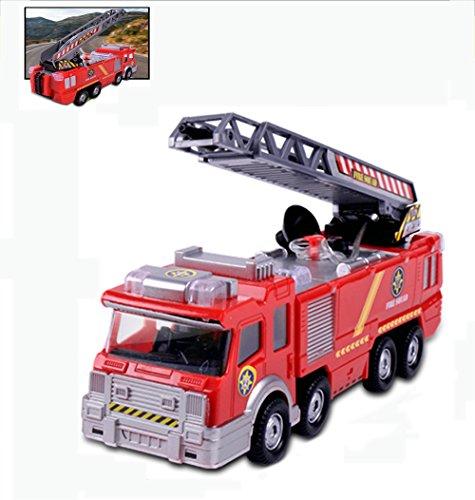 子供の電気おもちゃの車のシミュレーション水の音楽摩擦消防車おもちゃ火災のおもちゃのおもちゃ