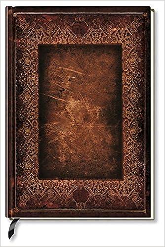 Alpha Edition Carnet De Notes Vierge Couverture Ancienne