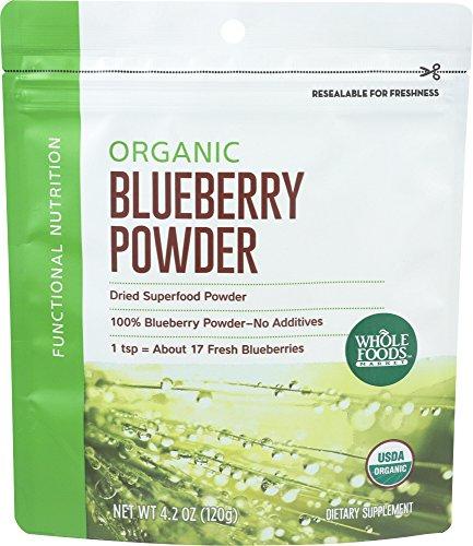 Whole Foods Market  Organic Blueberry Powder  4 Oz