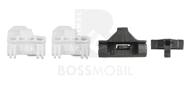 2//3 o 4//5 porte Bossmobil POLO set riparazione per sollevatore di finestrino alzacristalli avanti sinistra