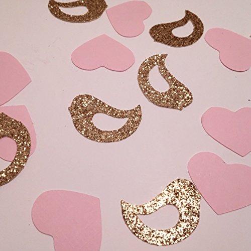 (Engagement Confetti, Wedding Confetti, Love Birds Confetti, Bridal Shower Confetti, Dove Confetti, Wedding Decorations, Bachelorette Party Decorations)
