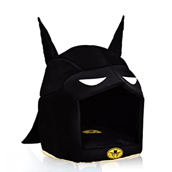 Cat Pet Tent House Cat Bed Durable Cute Superhero Design Cave (Batman L)  sc 1 st  Amazon.com : batman cave tent - memphite.com