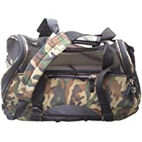 mmyTM Premium Soft-Sided Pet Carrier, Large Camo Classic For Pets up to 22 Lbs / 9.98 Kg, Air Travel Compatible