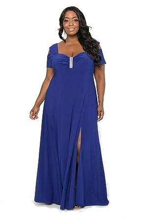 df38655f8d R M Richards Long Plus Size Formal Dress at Amazon Women s Clothing store