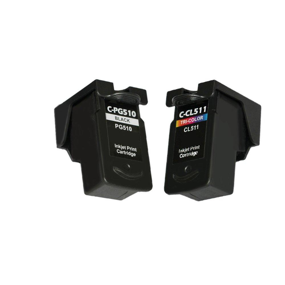 LCL PG510 PG-510 XL CL511 CL-511 XL (2-Pack Negro Tricolor ...