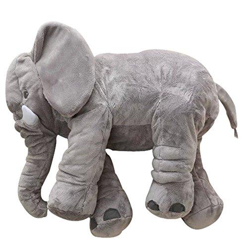 Elephant Plush Toy Pillow for Baby, Big Stuffed Elephant Pillow...