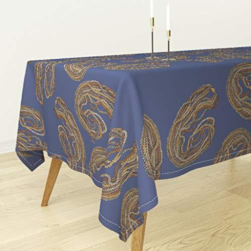 Roostery Tablecloth - Niihau Shells Hawaii Native Hawaiian Indigenous by Honoluludesign - Cotton Sateen Tablecloth 90 x 90