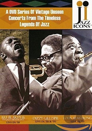 Jazz Icons: Series 1 (Nine DVD Boxed Set) by Jazz Icons