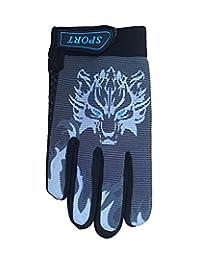 Bike Cycling Gloves Children Non-slip Kids Gloves Warm Sport Mittens