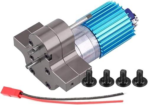 Sharplace Cambio de Velocidad de Coche RC Caja de Cambios de Metal 370 Motor de Cepillo - Color Titanio: Amazon.es: Juguetes y juegos
