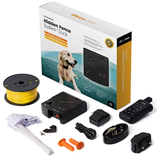 Advanced Dog Fence Train & - - 20 inc. 500ft Solid Boundary and Rechargeable, lbs