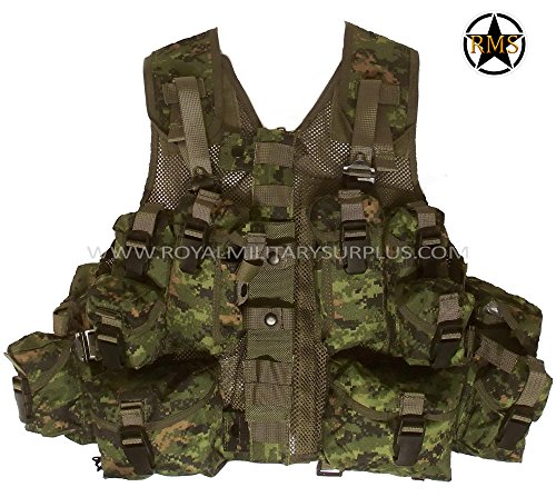 Tactical Vest - CF Forces - Canada Army Digital camouflage - Airsoft & Paintball Gear - CADPAT (Temperate Woodland) by Royal Military Surplus