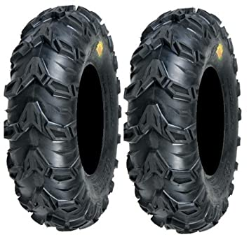 Pair of Sedona Mud Rebel 24x8-12 (6ply) ATV Tires (2)