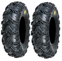 Pair of Sedona Mud Rebel 24x8-12 (6ply) ATV Tires (2)