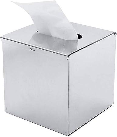 WPCASE Kleenex Box Dispenser Fazzoletti Scatola di Fazzoletti Supporto per Scatola di Fazzoletti di Carta Scatola Porta Fazzoletti Scatola di Fazzoletti Copre Cubo Porta Fazzoletti di Carta Gray