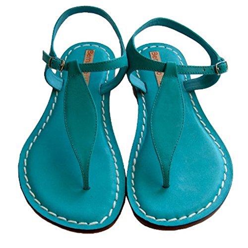 Bernardo Kvinnor Mistral / Dimensionen Sandal Turkos