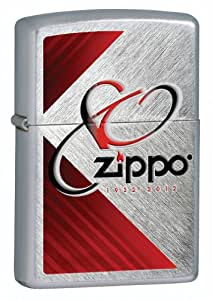 Lighter - Zippo 80Th Anniv Herringbone