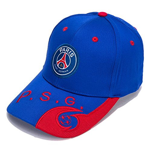 Paris Saint-Germain F.C. -Embroidered Authentic EPL Adjustable Blue Baseball Cap – DiZiSports Store