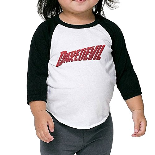 [Cayonom Child Kids Daredevil The Complete First Season Baseball Jersey T-Shirt 2 Toddler] (Iron Fist Costumes For Kids)