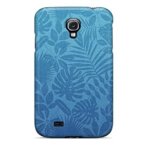 Cute Tpu DaMMeke Green Leaves Pattern Case Cover For Galaxy S4