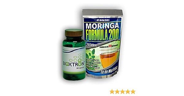 Amazon.com: Bioxtron 1 Frasco + 1 Moringa Te Gratis: Health & Personal Care