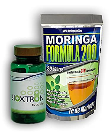 Bioxtron 1 Frasco + 1 Moringa Te Gratis