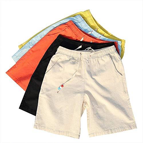 Survêtement Hommes Pour Bande Vêtements De Souples Pantalon Garçons Shorts Élastique Court Avec Plage Décontractés Pantalons D'été Beige Fête x4ZnfCqw