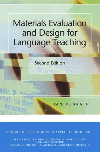 Materials Evaluation and Design for Language Teaching (Edinburgh Textbooks in Applied Linguistics (Paperback))