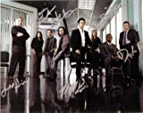 Numbers TV Series Cast Signed Autographed 8 X 10 Reprint Photo - Mint Condition