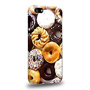 Diy iPhone 6 plus Fashion Art Donut Sweet Pattern Donut Assorted Protective Snap-on Hard Back Case Cover for Apple iPhone 6 plus