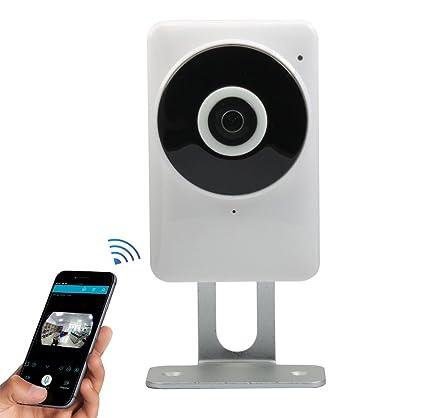 accfly Mini Wireless Seguridad Cámara IP HD 720p WiFi Vigilancia Videovigilancia con visión nocturna, detección