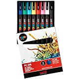 Uni-posca Paint Marker Pen - Fine Point - Set of 8 (PC-3M8C)