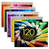 HERO 120-Colored Pencils Set For Sketch Coloring Pages And Books (120-Pack-Color) offers
