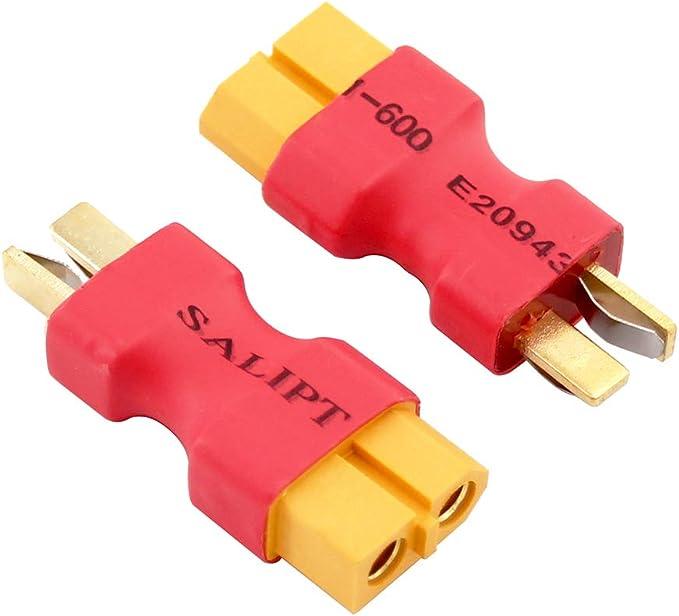 MPX Multiplex mâle femelle XT60 Sans Fil Adaptateur Pour RC Batterie Connecteur