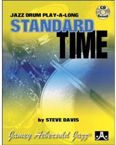 Standard Time: Jazz Drum Play-A-Long (Book & CD Set)