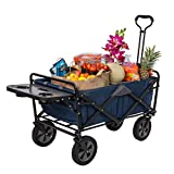 MacSports Collapsible Outdoor Utility Wagon with